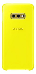Samsung Foliocover Clear View Cover voor Galaxy S10e yellow-Achteraanzicht
