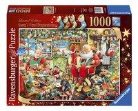 Ravensburger puzzle Les derniers préparatifs de Père Noël-Avant