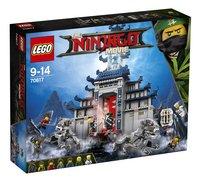 LEGO Ninjago 70617 Le temple de l'arme ultime suprême