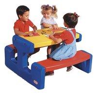 Little Tikes table de pique-nique pour 6 enfants