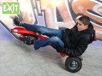 Exit ligfiets Triker Pro 100 rood-Afbeelding 1
