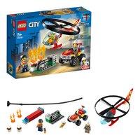 LEGO City 60248 L'intervention de l'hélicoptère des pompiers-Détail de l'article