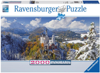 Ravensburger puzzle Château de Neuschwanstein