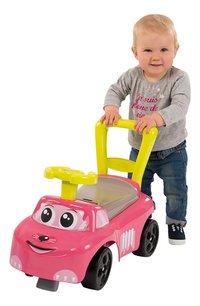 Smoby loopwagen Auto Ride-On roze-Afbeelding 1