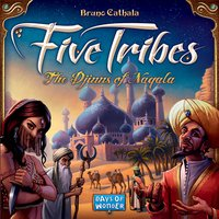 Five Tribes - The Djinns of Naqala ENG-Bovenaanzicht