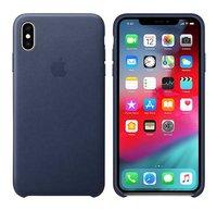 Apple coque en cuir pour iPhone Xs Max Midnight Blue-Détail de l'article