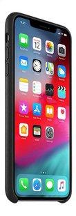 Apple coque en cuir pour iPhone Xs Max noir-Côté gauche