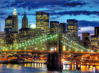 Ravensburger puzzle Skyline New York-Avant