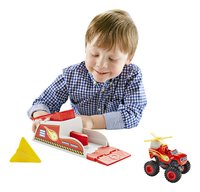 Fisher-Price set Blaze et les Monster Machines Blaze Turbo Launcher-Image 1