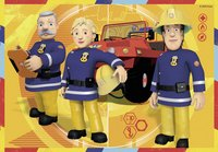 Ravensburger Puzzel 2-in-1 Brandweerman Sam aan het werk-Vooraanzicht