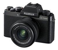 Fujifilm fototoestel X-T100 + XC15-45mm zwart-Rechterzijde