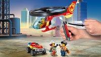LEGO City 60248 L'intervention de l'hélicoptère des pompiers-Image 5