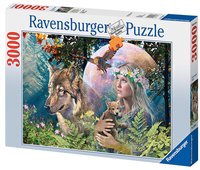 Ravensburger puzzel Wolven in de maneschijn