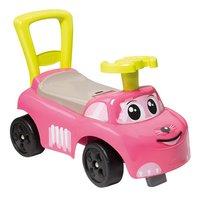 Smoby loopwagen Auto Ride-On roze-commercieel beeld