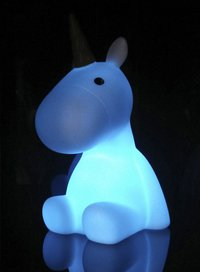 Nachtlampje Unicorn wit-Afbeelding 2