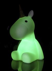 Nachtlampje Unicorn wit-Afbeelding 3