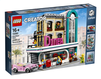 LEGO Creator Expert 10260 Diner in de stad-Linkerzijde