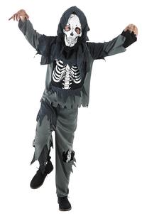 Déguisement de squelette de zombie