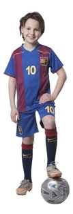 Voetbaloutfit FC Barcelona rood/blauw-Afbeelding 1