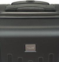 Princess Traveller harde reistrolley Detroit zwart 55/59 cm-Bovenaanzicht