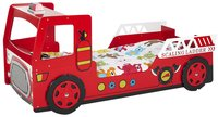 Bed Thomas brandweerwagen