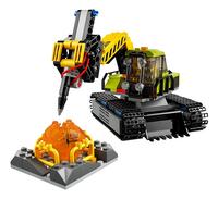 LEGO City 60124 La base d'exploration du volcan-Détail de l'article