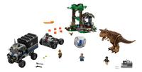 LEGO Jurassic World 75929 Gyrobolontsnapping van Carnotaurus-Vooraanzicht