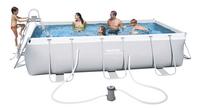 Bestway piscine Power Steel Frame L 4,04 x Lg 2,01 m