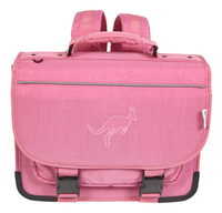 Kangourou boekentas roze 39 cm