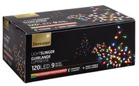 Ledverlichting slinger L 9 m multicolor