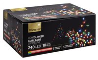 Ledverlichting slinger L 18 m multicolor