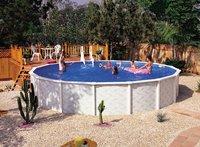 Interline zwembad Diana diameter 3,60 m-Vooraanzicht