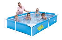 Bestway piscine pour enfants My First Frame bleu-Image 1