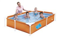Bestway piscine pour enfants My First Frame orange-Image 1