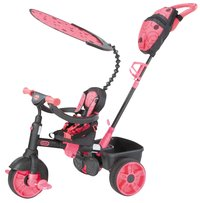 Little Tikes tricycle 4 en 1 noir/rose