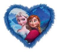 Kussen Disney Frozen hart blauw