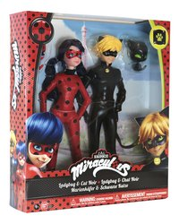 Figurine Articulee Miraculous Ladybug Chat Noir Dreamland