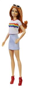 Barbie poupée mannequin  Fashionistas Original 122 - Rainbow shirt-Côté droit
