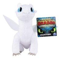 Pluche Dragons Premium Light Fury 20 cm-Vooraanzicht