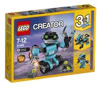 LEGO Creator 31062 Le robot explorateur