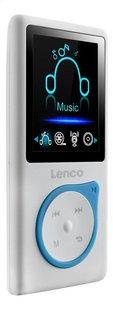 Lenco lecteur MP4 Xemio-668 8 Go bleu-Côté gauche