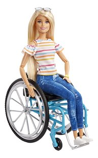 Barbie Fashionistas 132 - Barbie en chaise roulante-Avant