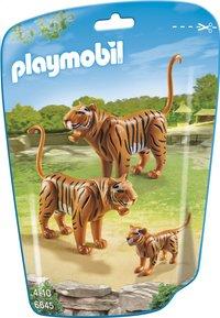 Playmobil City Life 6645 Tijgers met welp-Vooraanzicht