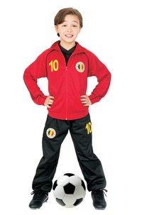 Trainingspak België rood maat 104