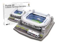 3D-puzzel stadion Real Madrid - Estadio Santiago Bernabéu-Vooraanzicht