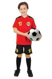 Tenue de football Belgique rouge taille 140-Avant