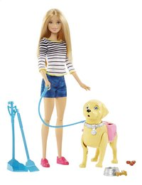 Barbie speelset Puppywandeling