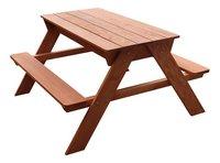 Sunny table de pique-nique pour enfants Dave Sand & Water-Côté droit