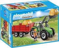 Playmobil Country 6130 Tractor met aanhangwagen-Vooraanzicht