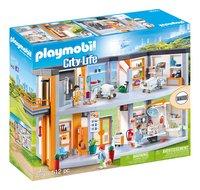 PLAYMOBIL City Life 70190 Hôpital aménagé-Côté gauche